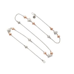 Picture of Arrows Classic Silver/Rose Gold Long Necklace